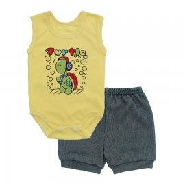 Imagem - Conjunto Body Regata e Shorts Menino - 10244-conj.regata-short-turtle-verd