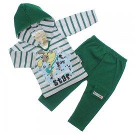 Imagem - Conjunto Camiseta e Calça - 10160-conjunto-camiseta-calca-verde
