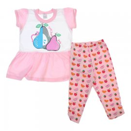 Imagem - Conjunto de Bebê Tutti Frutti - 6183 - Rosa