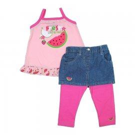 Imagem - Conjunto de Bebê Fresh - 5829 - rosa