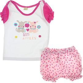 Imagem - Conjunto de Bebe - Shorts e Camiseta - Smoby Baby 6158 - 6158
