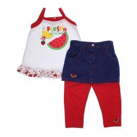 Imagem - Conjunto de Bebê Fresh - 5829 - Vermelho