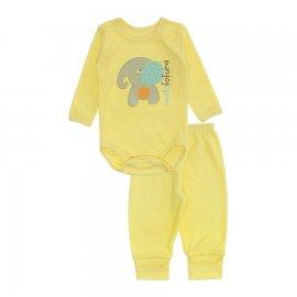 Imagem - Conjunto de Body e Calça Estampado Lapuko - 10270-body-ml-calca-elefante
