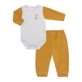 Imagem - Conjunto de Body e Calça Lapuko - 10065-body-calça-lapuko-amarelo-our