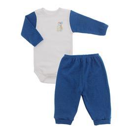 Imagem - Conjunto de Body e Calça Lapuko - 10065-body-calça-lapuko-azul-mescla