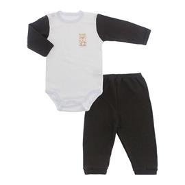 Imagem - Conjunto de Body e Calça Lapuko - 10065-body-calça-lapuko-marrom