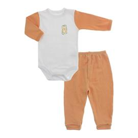 Imagem - Conjunto de Body e Calça Lapuko - 10065-body-calça-lapuko-laranja-mno