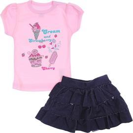 Imagem - Conjunto de Bebê Sorvete 5830 - 5830 - Rosa bebê