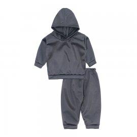 Imagem - Conjunto de Moleton para Bebê Lapuko - 10259-conj-moleton-cinza
