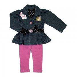 Imagem - Conjunto Casaco Jeans e Legging  - 5336