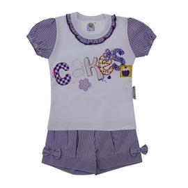 Imagem - Conjunto infantil Menina Cakes - 8555-Conjunto infantil Menina Cakes