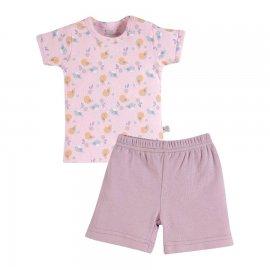 Imagem - Conjunto para Bebê em Malha Zig mundi - 7155-Conj. Bebê Zigmundi rosa