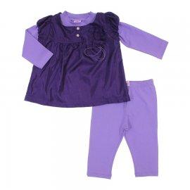 Imagem - Conjunto para Bebe Menina Baby Gijo  - 6654-lilas