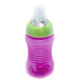 Imagem - Copo para Bebê Treinamento com Canudo 300 ml - 6918 - 6918-pink