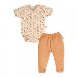 Imagem - Body e Culote para Bebê Zig Mundi - 7158-body-culote-menina-doce