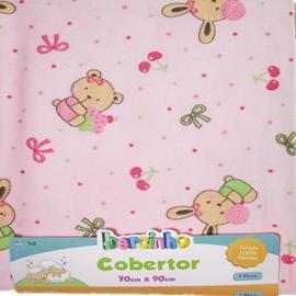 Enxoval de Bebê Cobertor Bear Happy 5353
