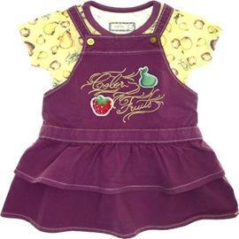 Imagem - Conjunto Salopete para Bebê e Blusa Marisol - 5586 - 5586 - Uva