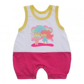 Imagem - Macacão Bebê Regata Lapuko - 10071-macacao-regata-magic-pink