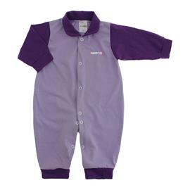 Imagem - Macacão de Bebê em Malha Lapuko  - 10014-macacao-lapuko-lilas-roxo