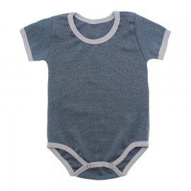 Imagem - Body Bebê em Ribana Lapuko - 10084-body-mc-ribana-cinza-mescla