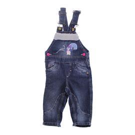 Imagem - Jardineira de Bebê em Jeans Pinguim - 7724 - 7724Pinguim