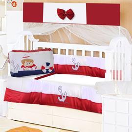 Kit Berço 9 Peças Bebê Marinheiro 8706