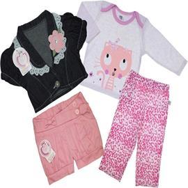 Imagem - Kit Infantil para Menina em Oferta - cod. 6974 - 6974