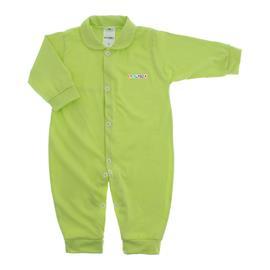 Imagem - Macacão de Bebê em Malha Lapuko  - 10014-macacao-lapuko-verde-medio