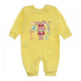 Imagem - Macacão Bebê Menina Lapuko - 10262-macacao-coelha-amarelo
