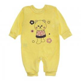 Imagem - Macacão Bebê Menina Lapuko - 10262-macacao-ursinha-amarelo