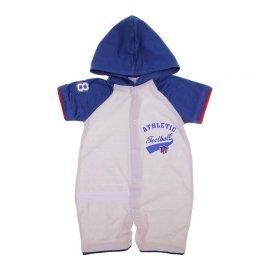 Imagem - Macacão Curto de Bebê Com Capuz Baby Gijo 6123 - 6123-athletic