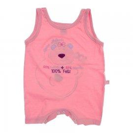 Imagem - Banho de Sol Bebê Menina Regata Bicho Molhado 5992 - 5992 - Rosa