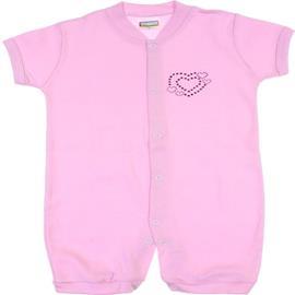 Imagem - Macacão Curto de Bebe Best Club - 6653-rosa