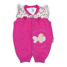Imagem - Macacão Curto de Bebê - 6212 - Pink
