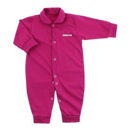 Imagem - Macacão de Bebê em Malha Lapuko  - 10014-macacao-lapuko-colors-pink