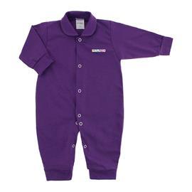 Imagem - Macacão de Bebê em Malha Lapuko  - 10014-macacao-lapuko-colors-roxo