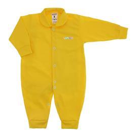 Imagem - Macacão de Bebê em Malha Lapuko  - 10014-macacao-lapuko-colors-amarelo