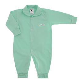 Imagem - Macacão de Bebê em Malha Lapuko  - 10014-macacão-longo-lapuko-verde
