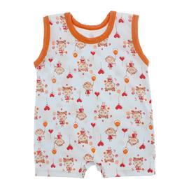 Imagem - Macacão de Bebê Curto Estampado Lapuko - 10048-macacao-estampado-girls