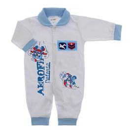 Imagem - Macacão de Bebê Lapuko - 10068-macacão-avião-azul