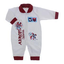 Imagem - Macacão de Bebê Lapuko - 10068-macacão-avião-vinho