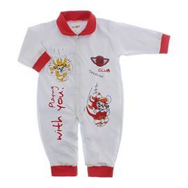 Imagem - Macacão de Bebê Lapuko - 10068-macacao-club52-vermelho