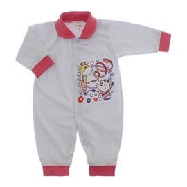 Imagem - Macacão de Bebê Lapuko - 10068-macacão-mna-girafa-chiclete