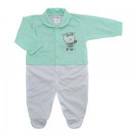 Imagem - Macacão para Bebê Lapuko - 10229-macacao-menina-verde