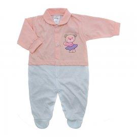 Imagem - Macacão para Bebê Lapuko - 10229-macacao-menina-salmão