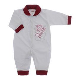 Imagem - Macacão de Bebê Lapuko - 10068-macacao-mna-ursa-vinho