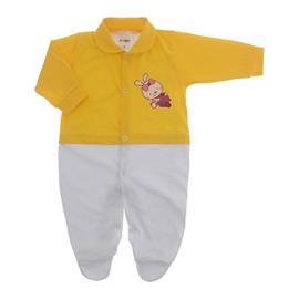 Imagem - Macacão de Bebê Menina Lapuko - 10079-macacao-estamp.mna-amarelo