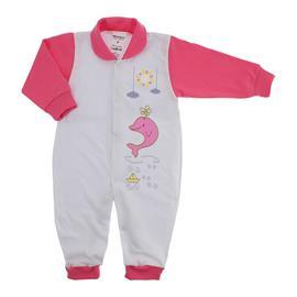 Imagem - Macacão de Bebê Menina Lapuko - 9950-macacao-lapuko-botão-chiclete