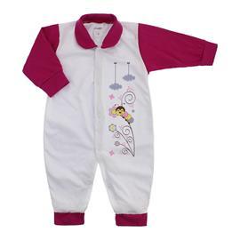 Imagem - Macacão de Bebê Menina Lapuko - 9950-macacao-lapuko-estampado-pink