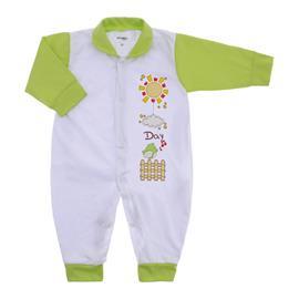 Imagem - Macacão de Bebê Menina Lapuko - 9950-macacao-verde-medio-menina
